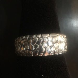 Simon Sebbag hammered Cuff Bracelet.
